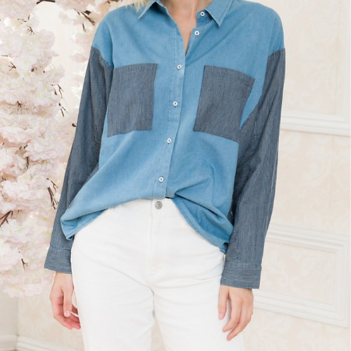 Mia Denim Shirt