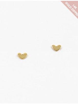Heart Stud Earring