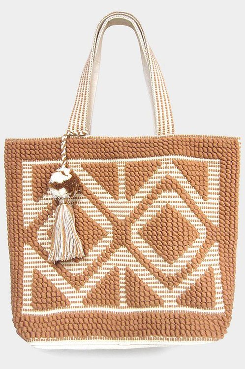 Poppi Tote (Avail in Colors)
