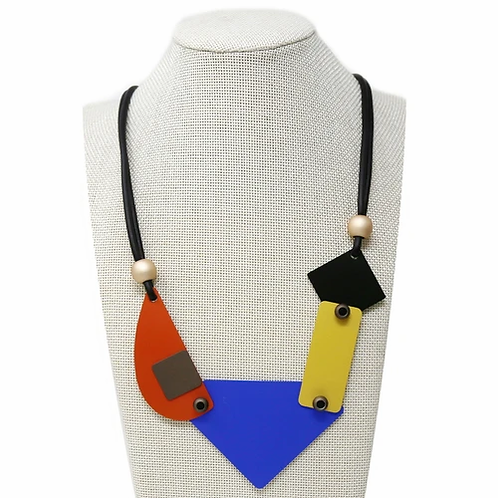 MRez Color Block Necklace