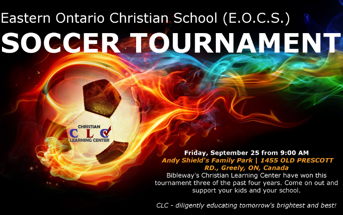 CLC Soccer Tournament Wix