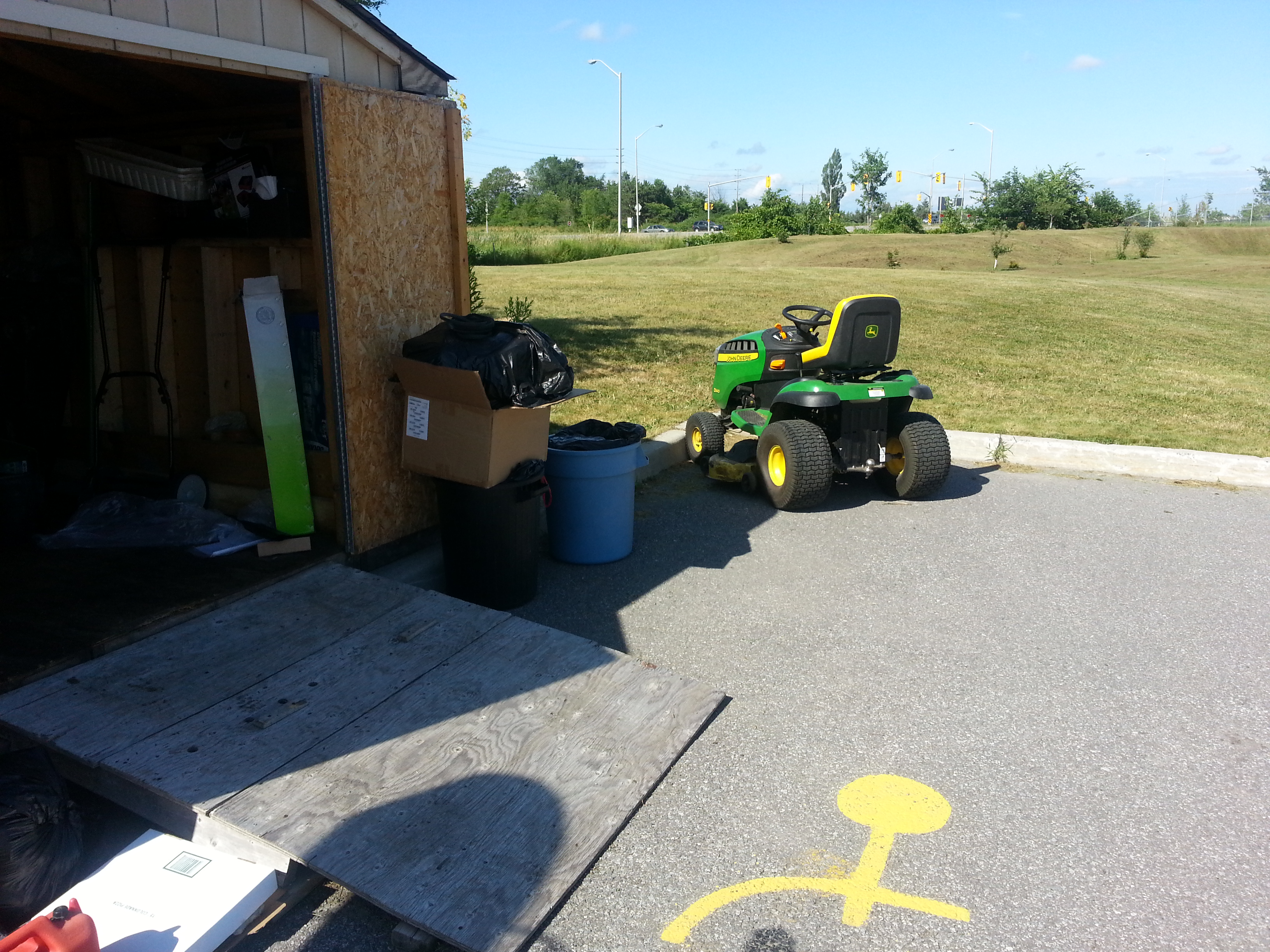 CLC Equipment Shed