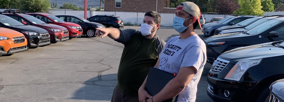 David and Tyler discuss a shot