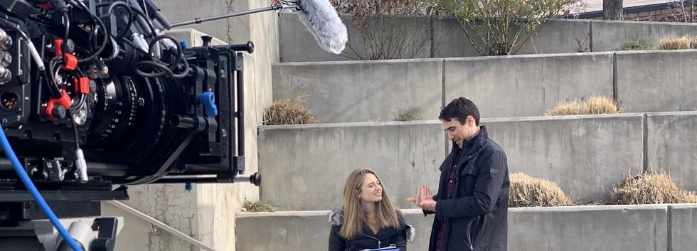 Adam attempts sign language