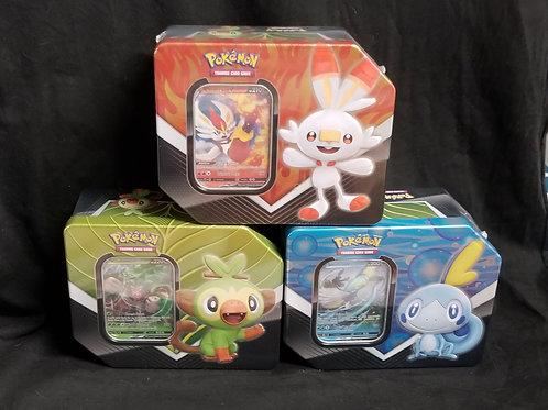 Pokémon Galar Partners Tin