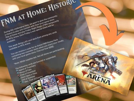 MTG Arena FNM@Home & Shop Tournaments