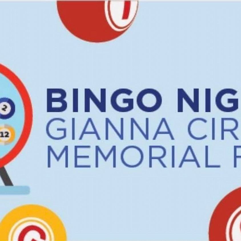 BINGO Night for the Gianna Cirella Memorial Fund