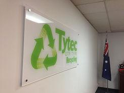 Tytec recycle acrylic sign.jpg