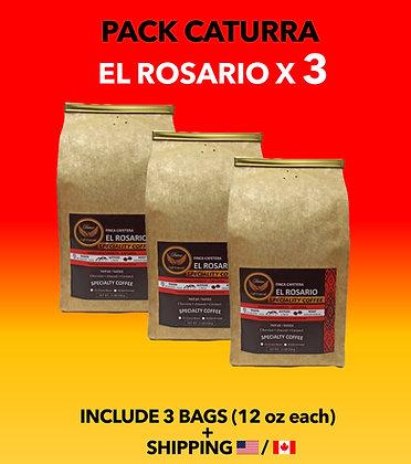 Pack Caturra - El Rosario x 3