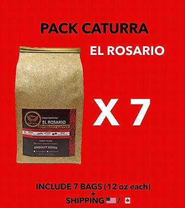 Pack Caturra - El Rosario x 7