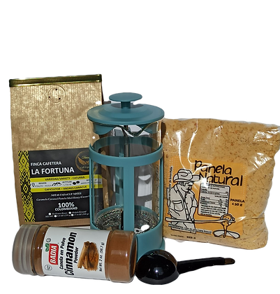 Traditional Colombian Coffee Kit + French Press