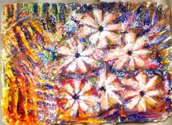 Daisies - 6 x 8 Acrylic