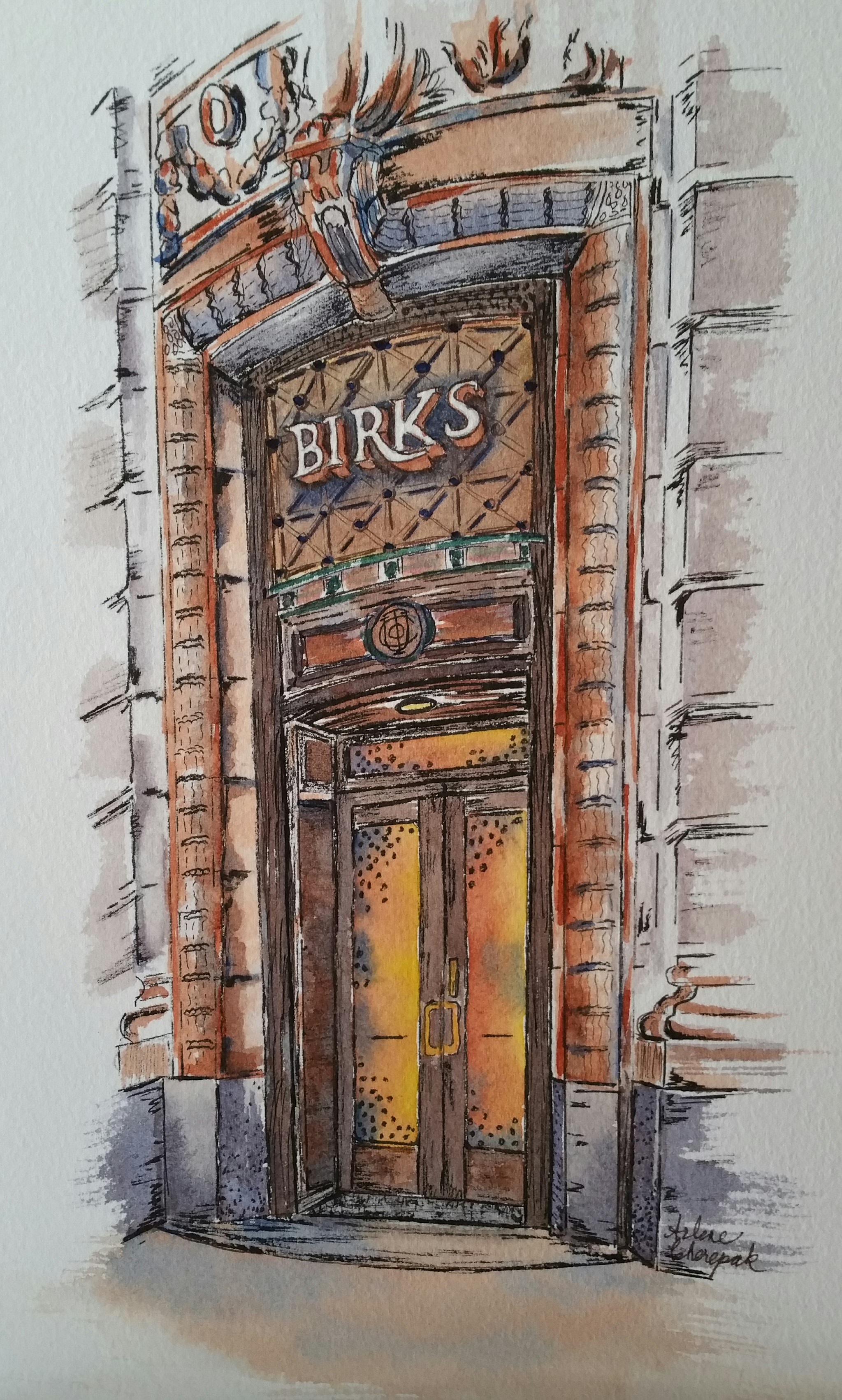 Birks Jewelry Store