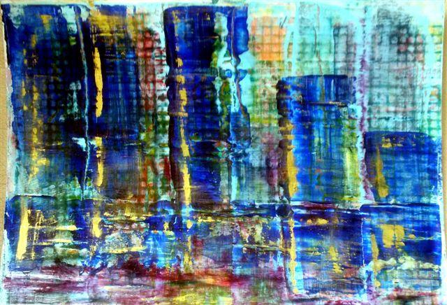 Big City - 6 x 8 Acrylic