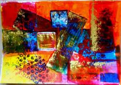 Bubbles -  6 x 8 Acrylic