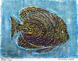 Reef Fish Acrylic 7x9