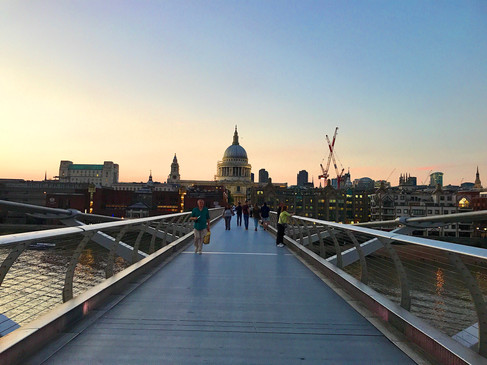 St Paul's Cathedral from The Millenial Bridge (iPhone 7)