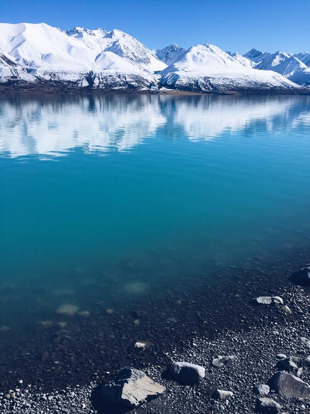 Lake Pukaki (Canon 550d)