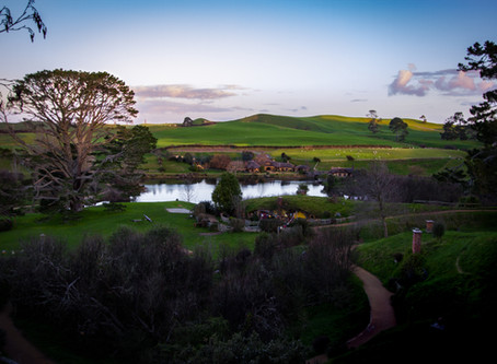 The Hobbiton Movie Set - 'I'm going on an adventure!'