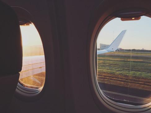 Take off at dawn (iPhone 6)