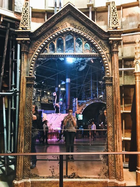 The Mirror of Erised, Warner Bros Studio Tours, Leavesden (iPhone 7)
