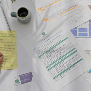 Diseño de hojas membretadas para organizaciones