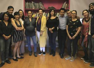 Sesión creativa para proyectos culturales