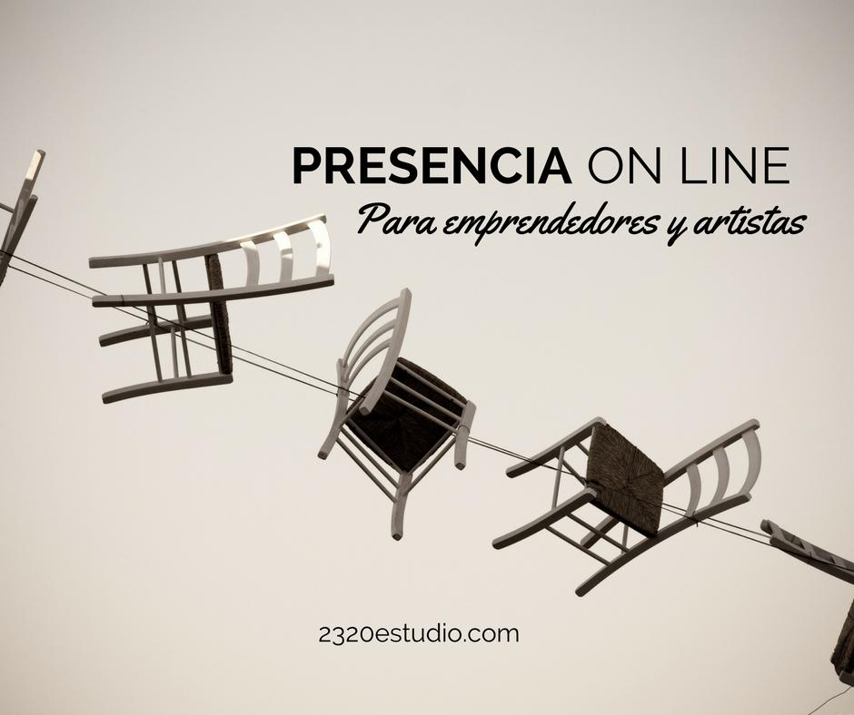 Presencia online para artistas