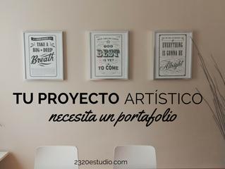Tres sencillas razones por las que tu proyecto artístico necesita un portafolio