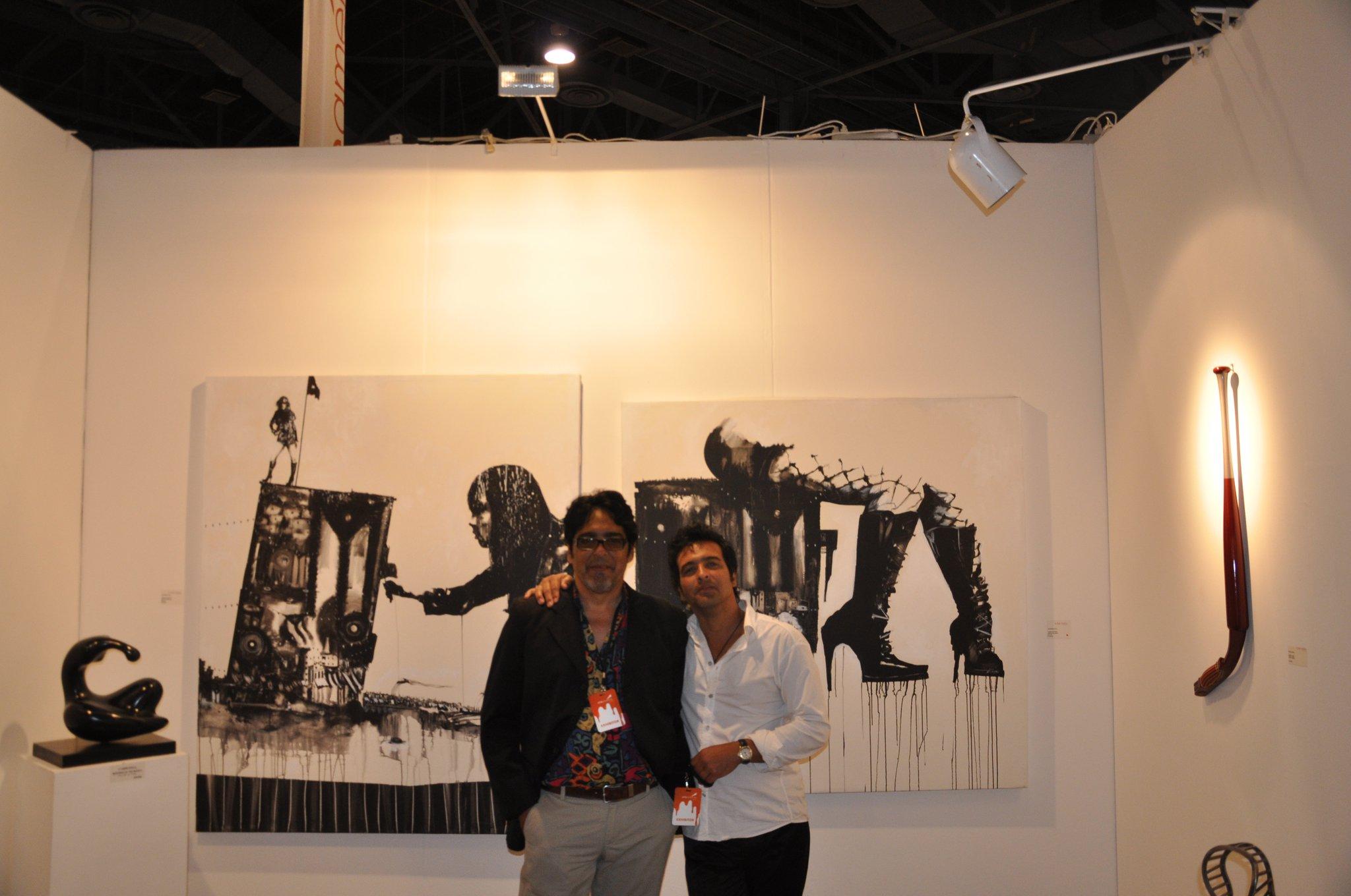 ART BASEL 2011, Kavachina Gallery, Miami, Florida