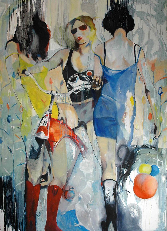 "Colorin Colorado 2010 | Oil on Canvas | 70""x 50"""