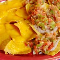 Bean Dip & Cheese Chip Appetizer.JPG