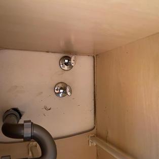 Before shut off valves Garbage Disposal