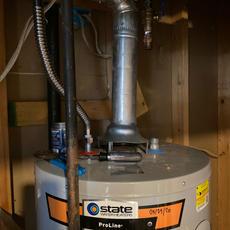 Water Heater Upgrade Before