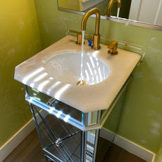 After New Sink and Faucet.