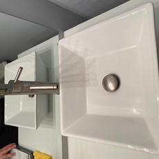 Bathroom 3 Sink with fixtures