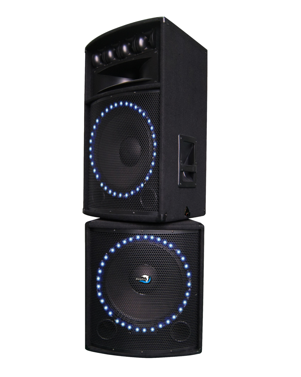Bluetooth DJ Speaker with LED Lights