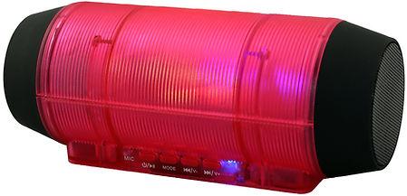 QFX BT‑44 Portable Speaker ‑ Wireless -red