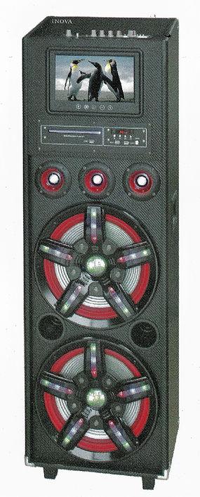 iNOVA DJ Speaker Model No: IN-PA21218BTD