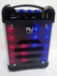 Nutek portable Speaker with karaoke function.Model: BT-3165LM