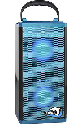 SP-1R BT - Dolphin Audio Rechargeable Mini Bluetooth Speaker-Blue.jpeg