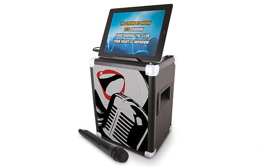 ION Karaoke Pro for IPad, android device with Bluetooth and mic- audio/ speaker