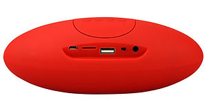 Bt-300-bluetooth-mini-speaker-with-mic-red