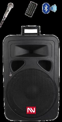 "Nutek PS-350115BL 15"" Bluetooth PA Speaker SystemNutek PS-350115BL 15"" Bluetooth PA Speaker System w"