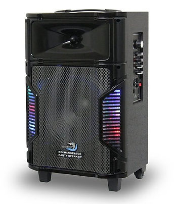Dolphin SP-10RBT Rechargeable Party Speaker