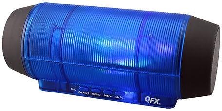 QFX BT‑44 Portable Speaker ‑ Wireless-Blue