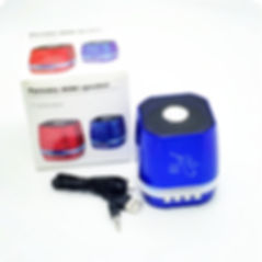 T-2306A Portable Mini Wireless Bluetooth MP3 Music Player Led Speaker with USB Port