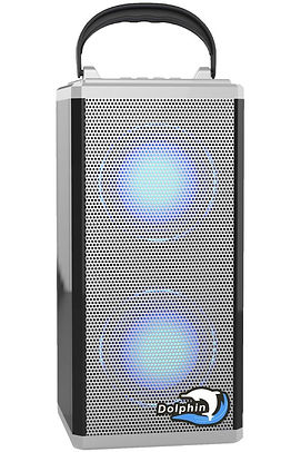 SP-1R BT - Dolphin Audio Rechargeable Mini Bluetooth Speaker-White