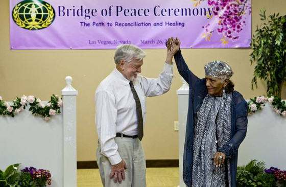 The Harrison House participates in celebration honoring the end of segregation on the Las Vegas stri