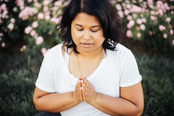 Atmika_Yani_Noerren_anjali mudra_praying